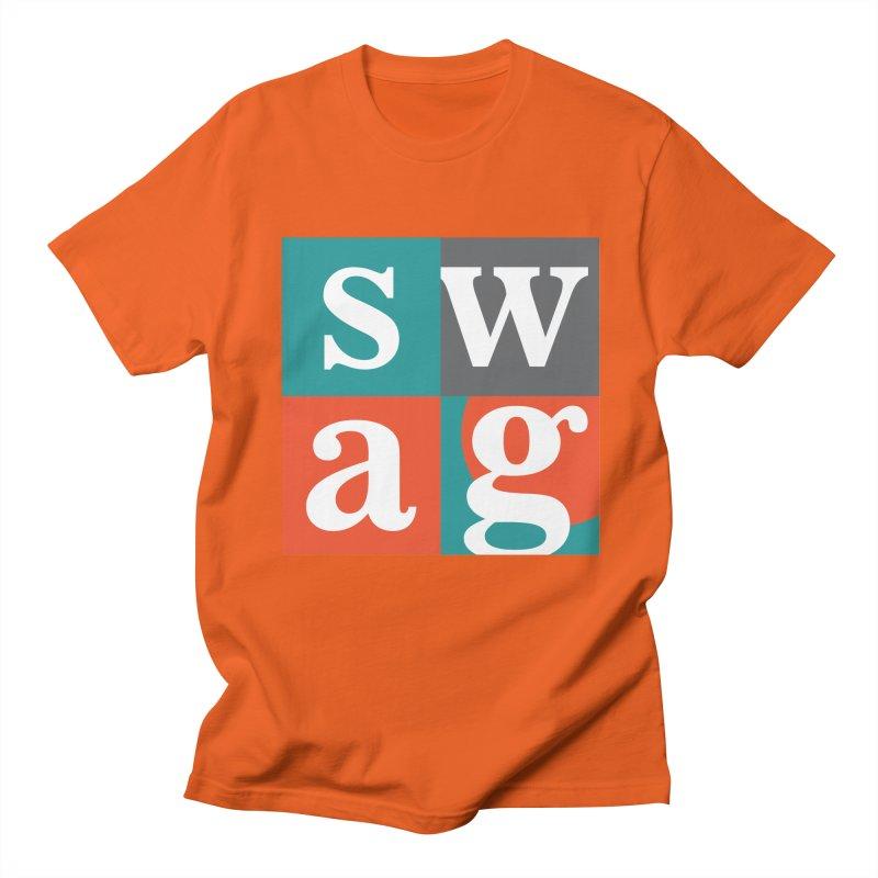 Swag Design Men's T-shirt by abhikreationz's Artist Shop