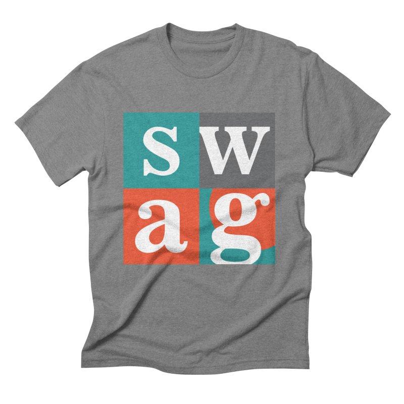 Swag Design Men's Triblend T-Shirt by abhikreationz's Artist Shop