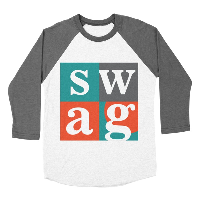 Swag Design Women's Baseball Triblend T-Shirt by abhikreationz's Artist Shop