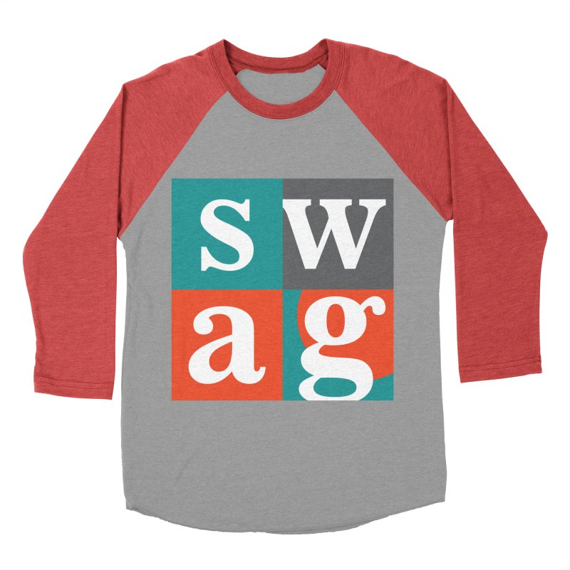 Swag Design Men's Baseball Triblend T-Shirt by abhikreationz's Artist Shop