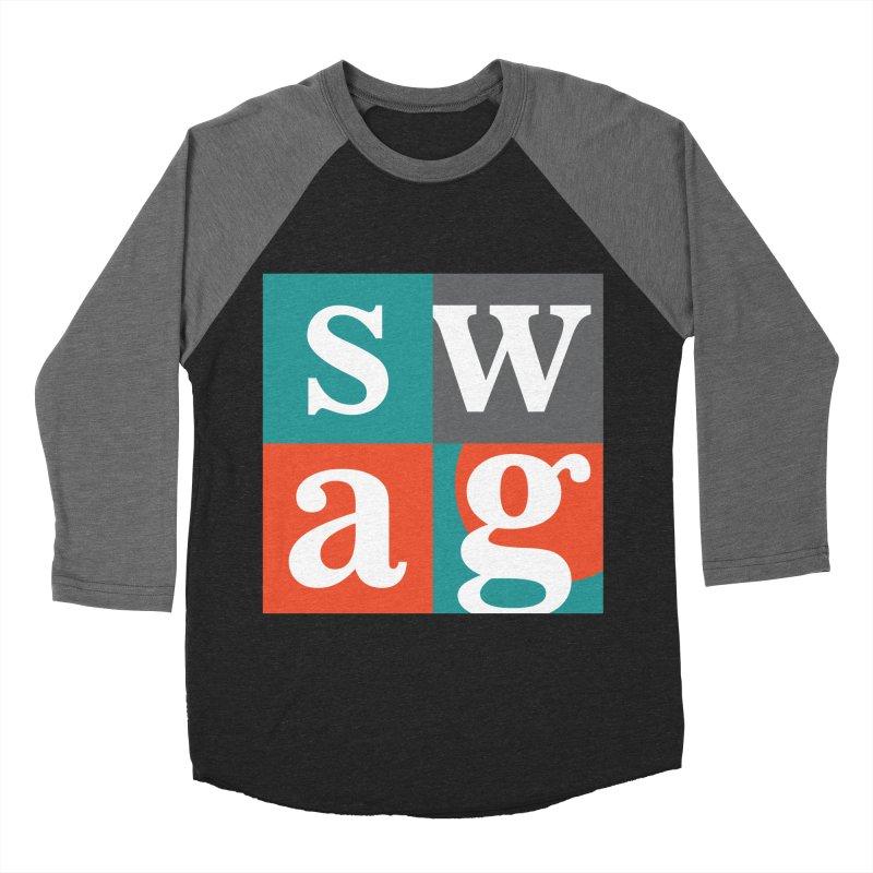 Swag Design Men's Baseball Triblend T-Shirt by abhikreationz's Artist Shop