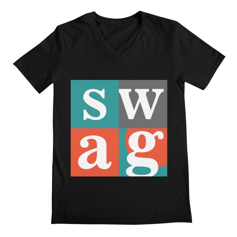 Swag Design Men's V-Neck by abhikreationz's Artist Shop