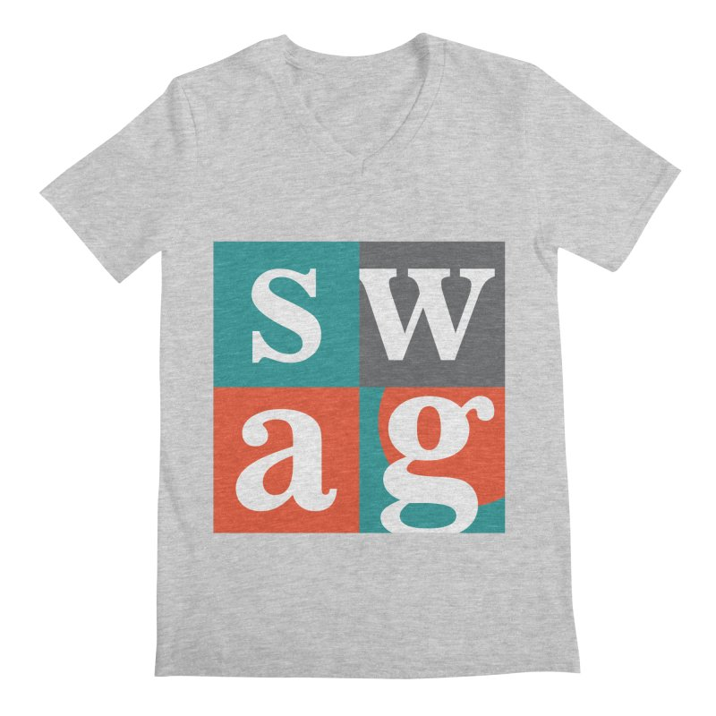 Swag Design Men's V-Neck by abhikreationz's Artist Shop