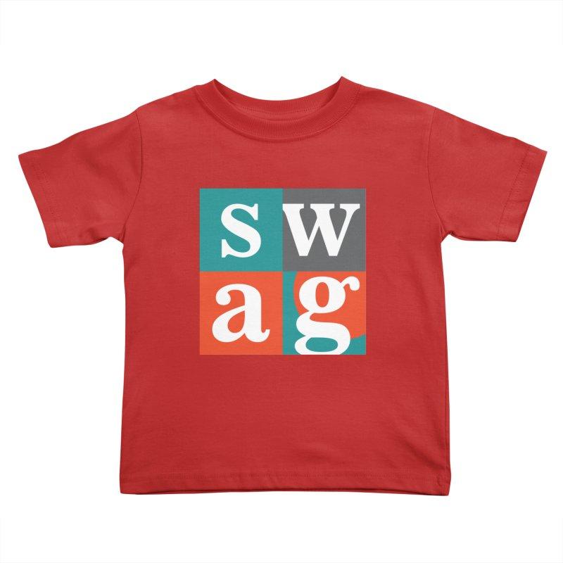 Swag Design Kids Toddler T-Shirt by abhikreationz's Artist Shop