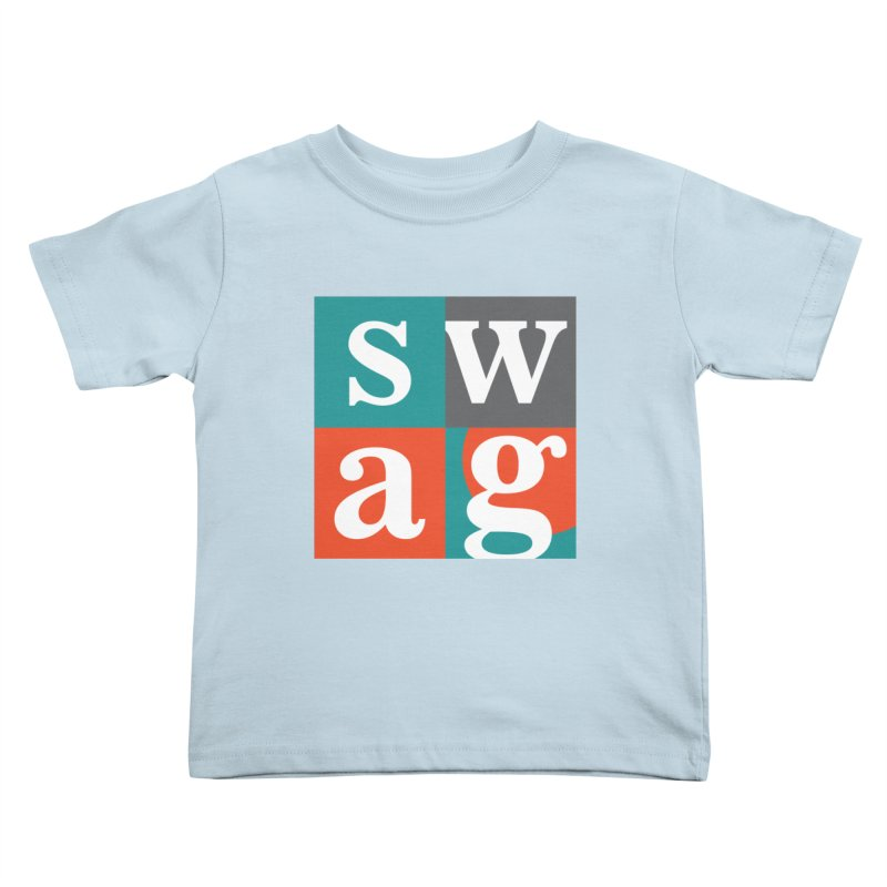 Swag Design Kids Toddler T-Shirt by abhikreationz's Artist Shop