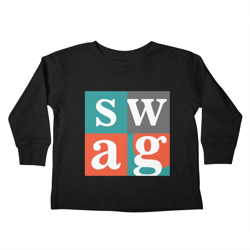 Swag Design Kids Toddler Longsleeve T-Shirt by abhikreationz's Artist Shop