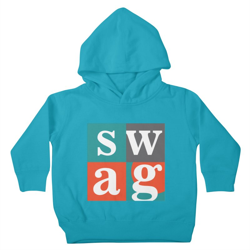 Swag Design Kids Toddler Pullover Hoody by abhikreationz's Artist Shop