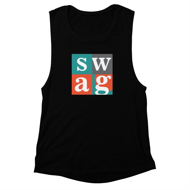 Swag Design Women's Muscle Tank by abhikreationz's Artist Shop