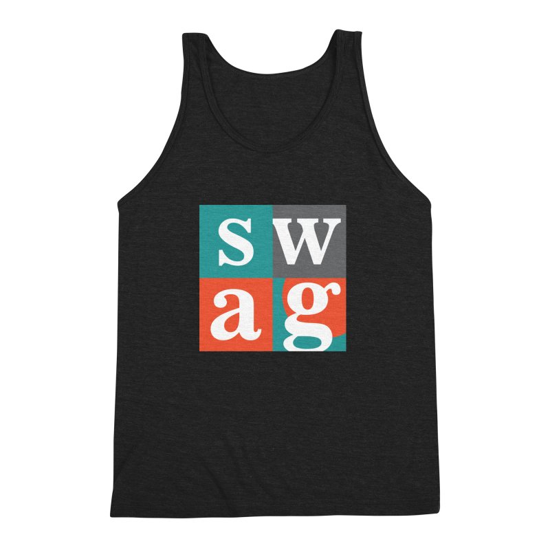Swag Design Men's Triblend Tank by abhikreationz's Artist Shop