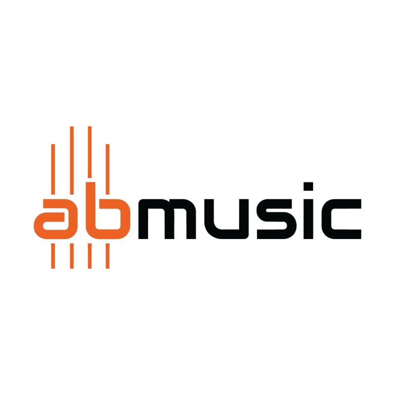 ABMusic Logo Accessories Sticker by abmusicguru's Artist Shop