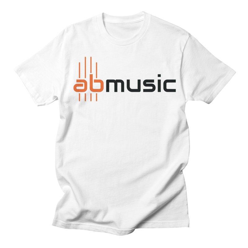 ABMusic Logo Men's T-Shirt by abmusicguru's Artist Shop
