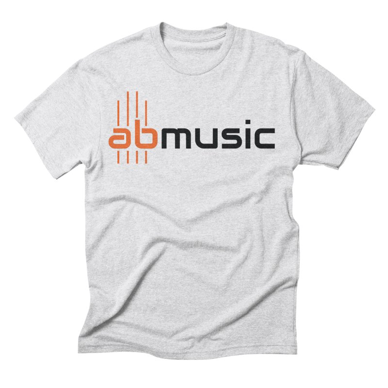 ABMusic Logo Men's T-Shirt by abmusicguru's Artist Shop