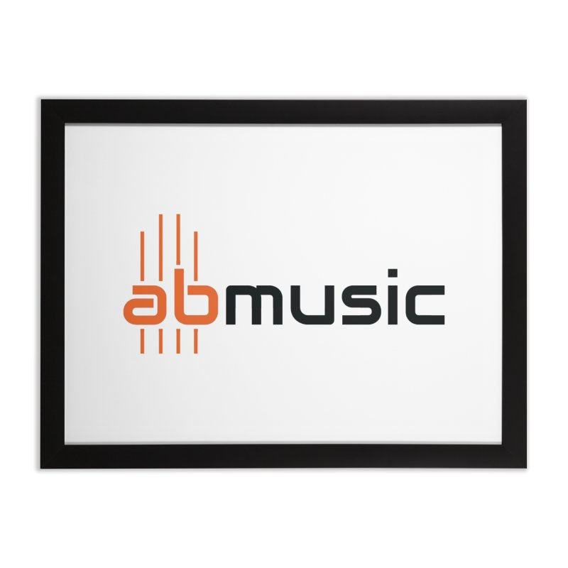 ABMusic Logo Home Framed Fine Art Print by abmusicguru's Artist Shop