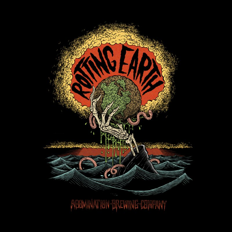 Rotting Earth Men's T-Shirt by abominationbrewing's Artist Shop