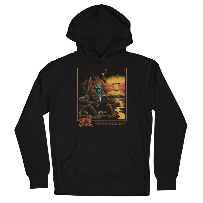 Social Distancing Men's Pullover Hoody by abominationbrewing's Artist Shop