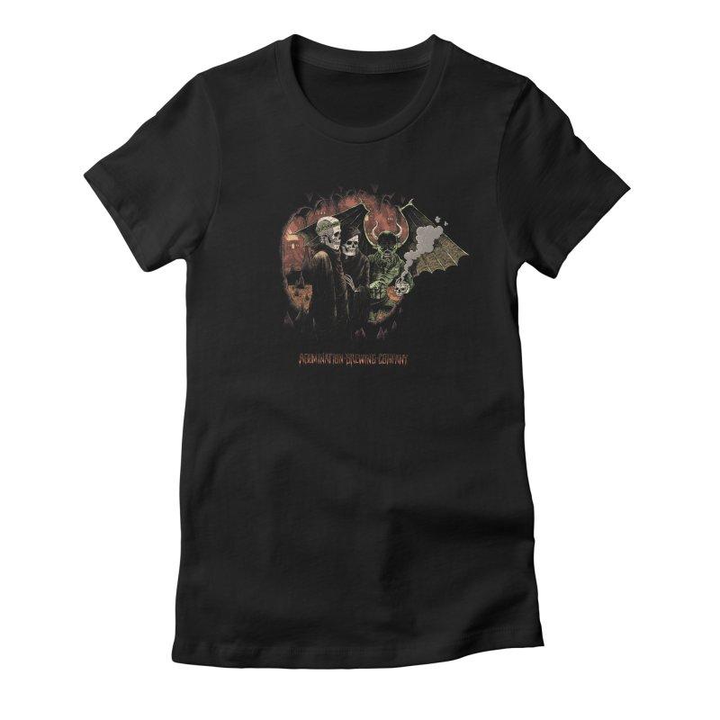 Pilgrimage Into the Dank Women's T-Shirt by abominationbrewing's Artist Shop