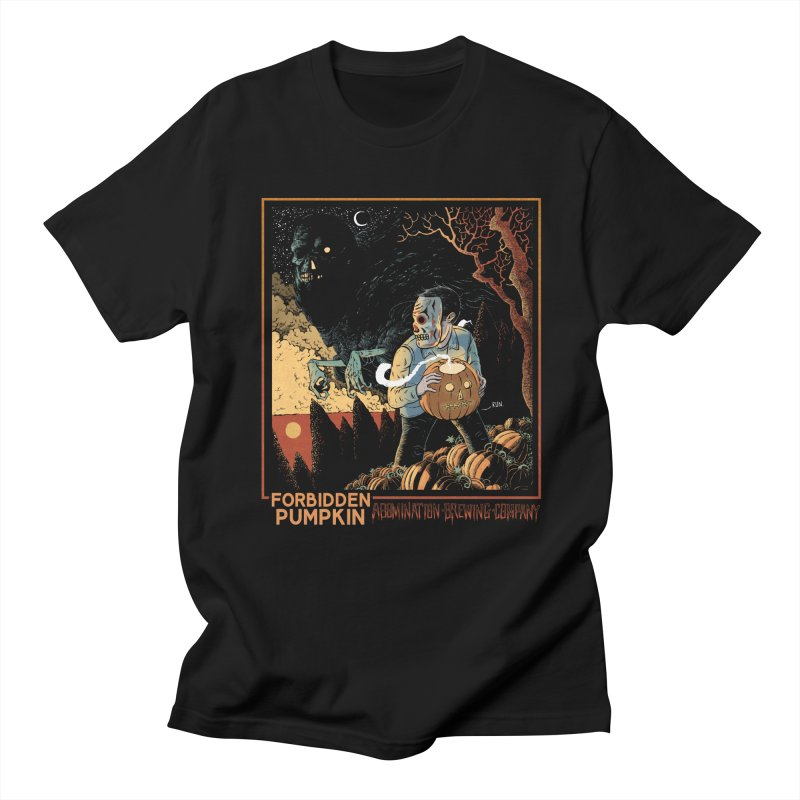 Forbidden Pumpkin Men's T-Shirt by abominationbrewing's Artist Shop