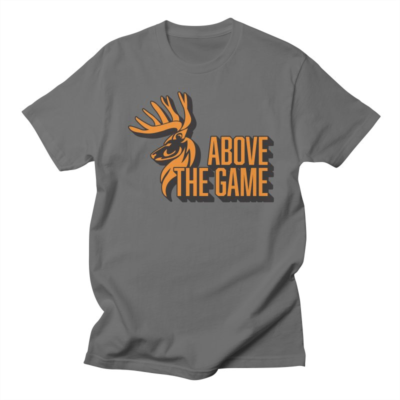 Above The Game in Men's Regular T-Shirt Asphalt by abovethegame's Artist Shop