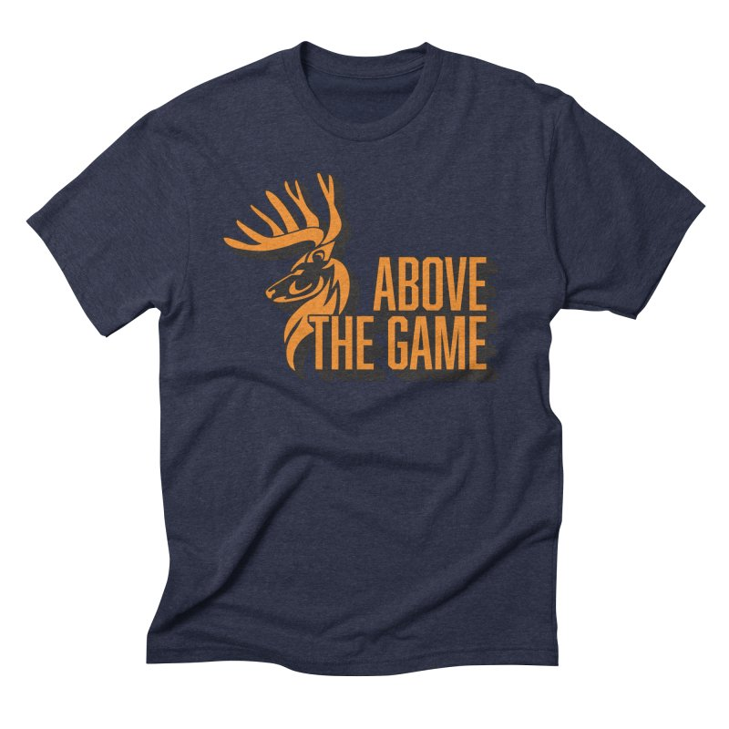 Above The Game in Men's Triblend T-Shirt Navy by abovethegame's Artist Shop