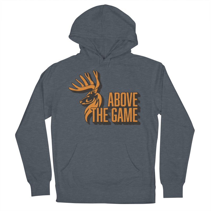 Above The Game Women's French Terry Pullover Hoody by abovethegame's Artist Shop