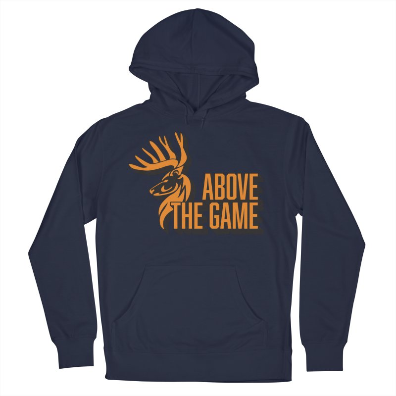 Above The Game Men's French Terry Pullover Hoody by abovethegame's Artist Shop