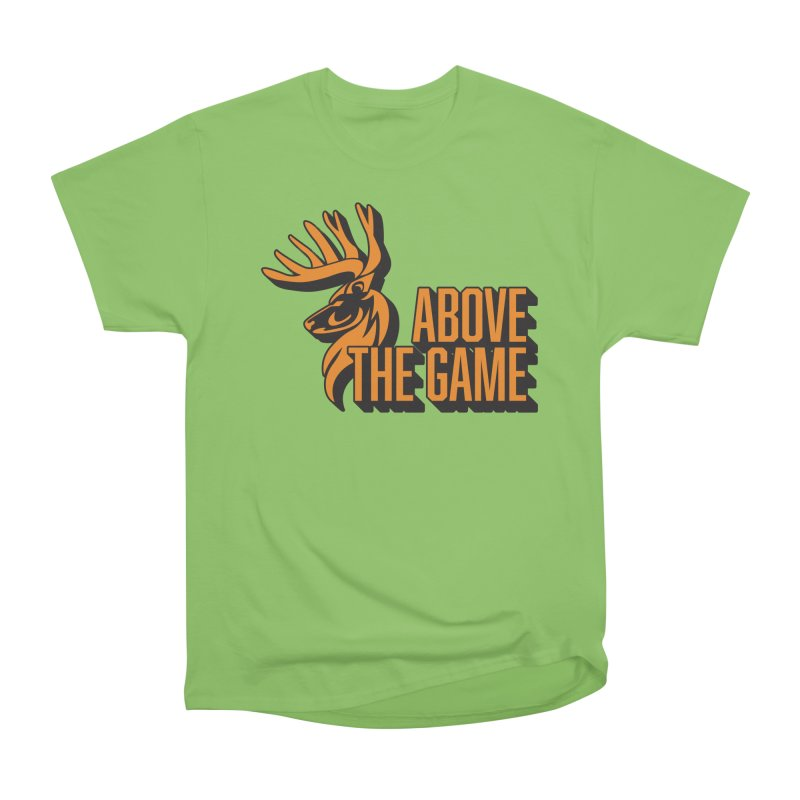 Above The Game Men's Heavyweight T-Shirt by abovethegame's Artist Shop