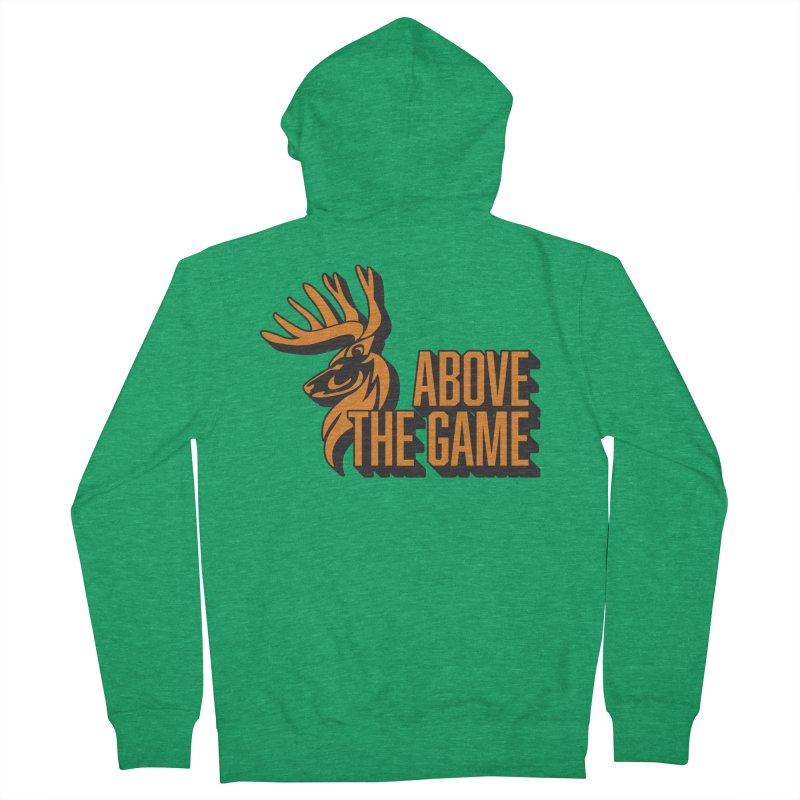 Above The Game Women's Zip-Up Hoody by abovethegame's Artist Shop