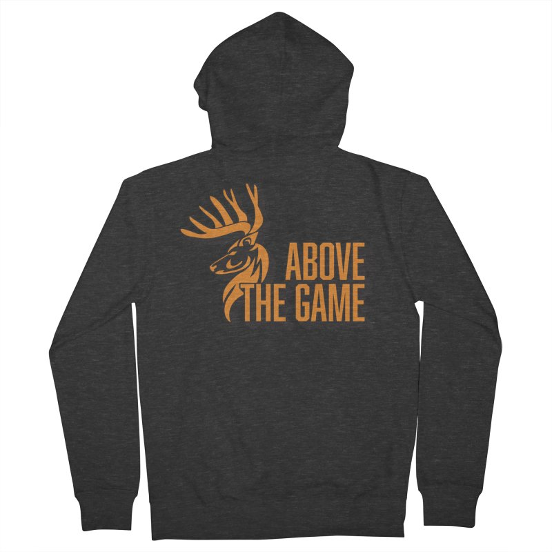 Above The Game Men's Zip-Up Hoody by abovethegame's Artist Shop