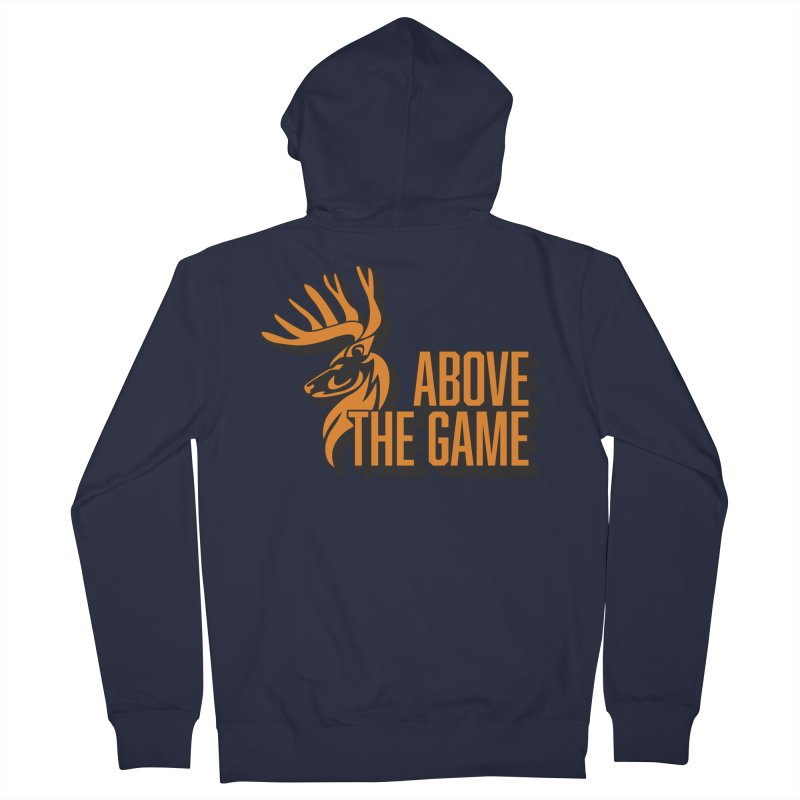 Above The Game Men's French Terry Zip-Up Hoody by abovethegame's Artist Shop
