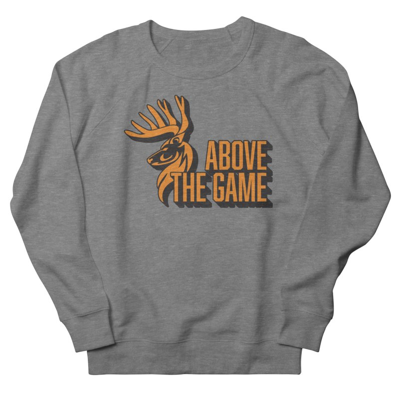 Above The Game in Men's French Terry Sweatshirt Heather Graphite by abovethegame's Artist Shop