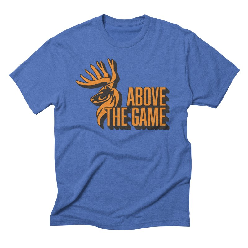 Above The Game Men's Triblend T-Shirt by abovethegame's Artist Shop