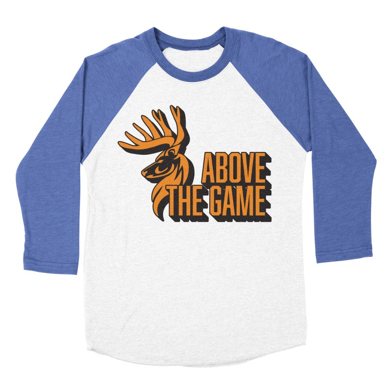 Above The Game Women's Baseball Triblend Longsleeve T-Shirt by abovethegame's Artist Shop