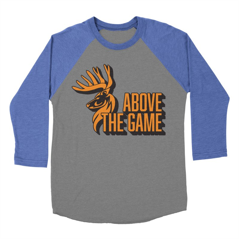 Above The Game Women's Baseball Triblend Longsleeve T-Shirt by abovethegame's Artist Shop