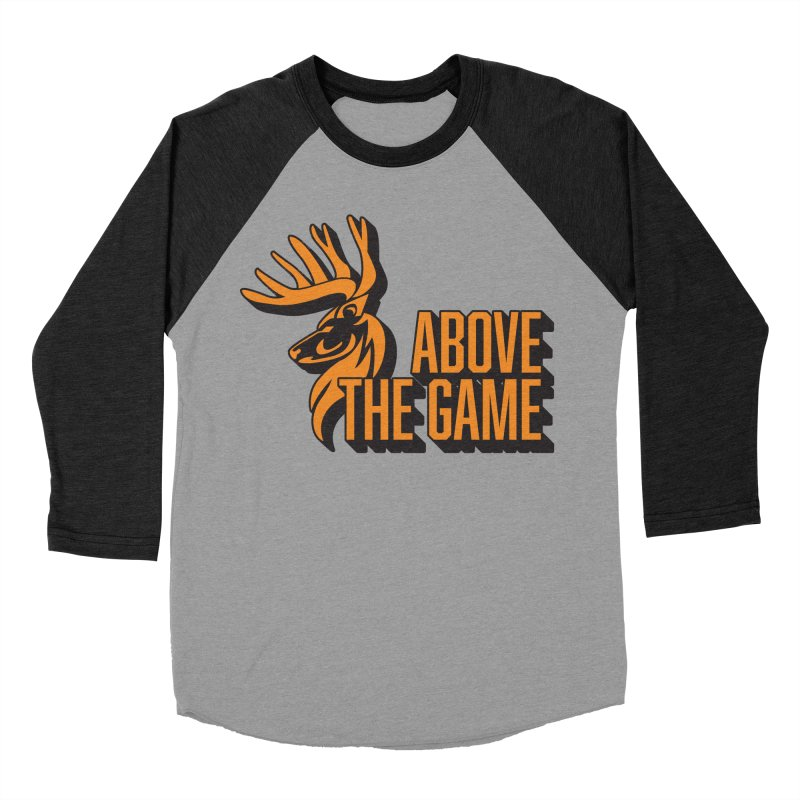 Above The Game Men's Baseball Triblend T-Shirt by abovethegame's Artist Shop