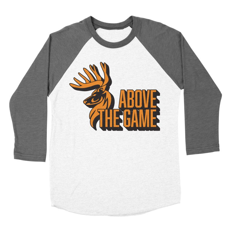Above The Game Men's Baseball Triblend Longsleeve T-Shirt by abovethegame's Artist Shop