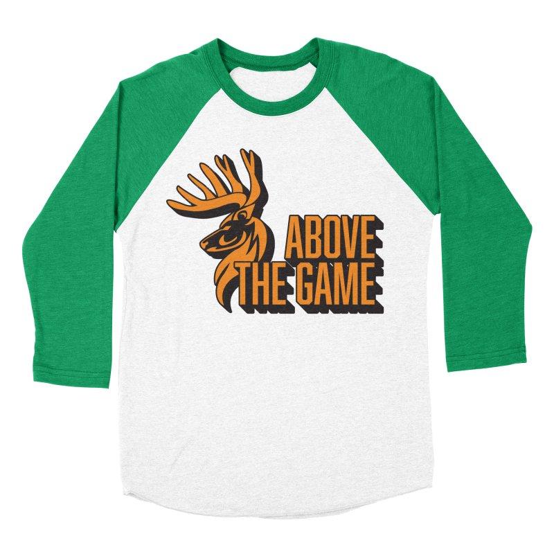 Above The Game Men's Baseball Triblend Longsleeve T-Shirt by abovethegame's Artist Shop