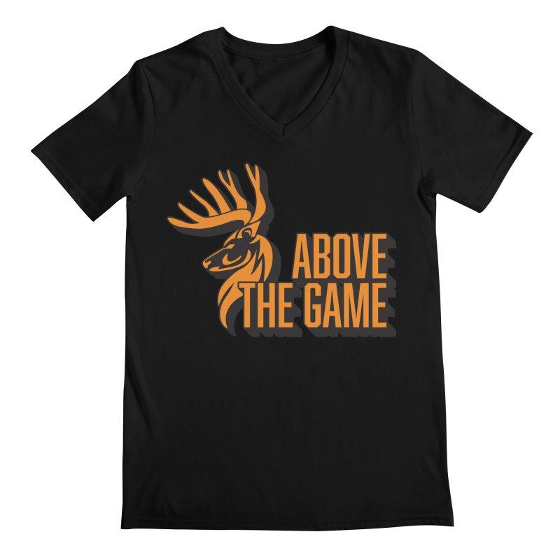 Above The Game Men's Regular V-Neck by abovethegame's Artist Shop