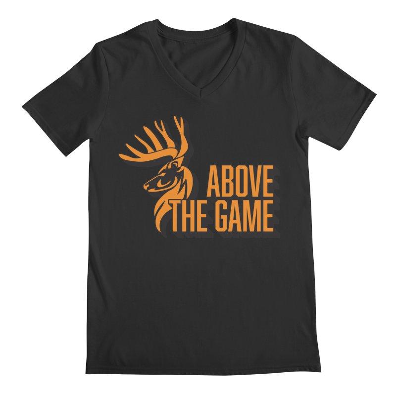 Above The Game Men's V-Neck by abovethegame's Artist Shop