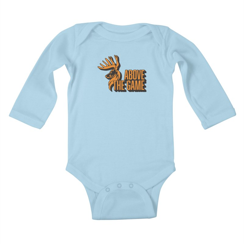 Above The Game Kids Baby Longsleeve Bodysuit by abovethegame's Artist Shop