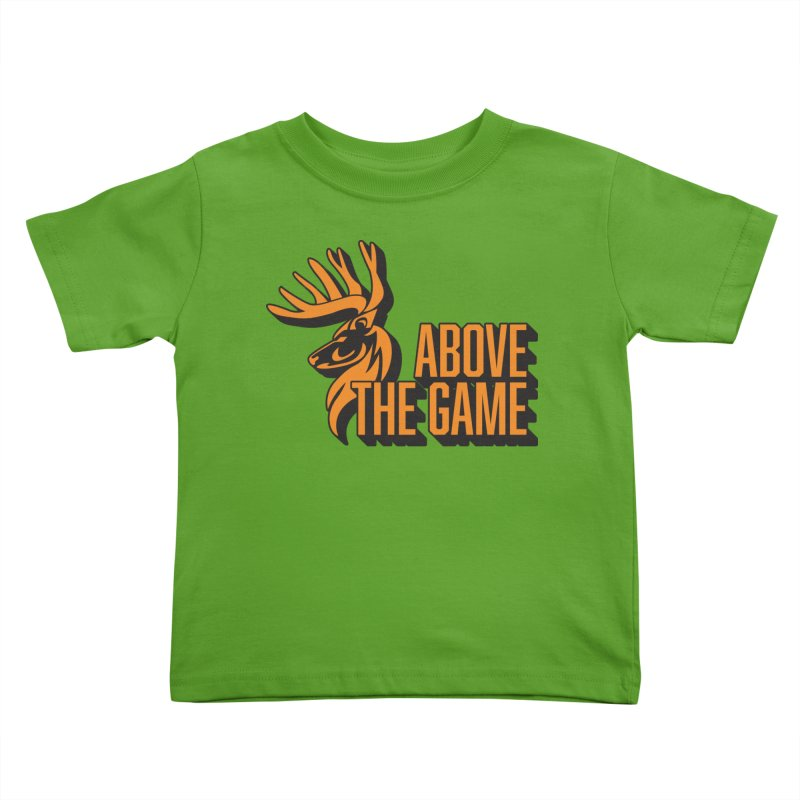 Above The Game Kids Toddler T-Shirt by abovethegame's Artist Shop