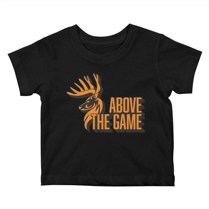 Above The Game in Kids Baby T-Shirt Black by abovethegame's Artist Shop