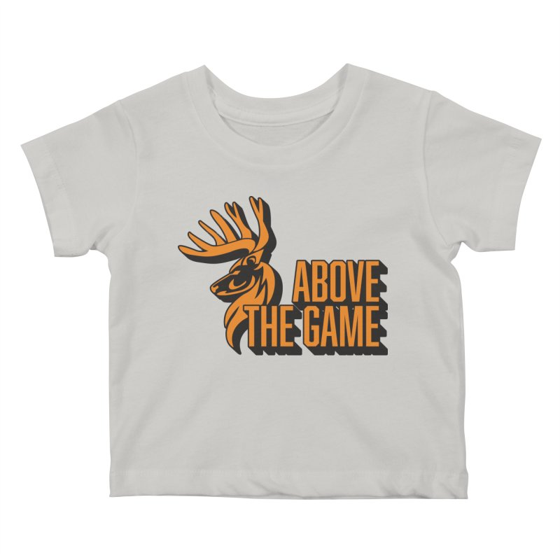 Above The Game Kids Baby T-Shirt by abovethegame's Artist Shop