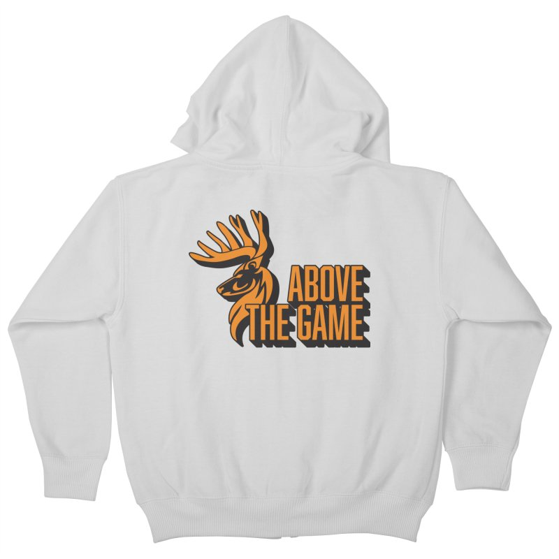 Above The Game Kids Zip-Up Hoody by abovethegame's Artist Shop