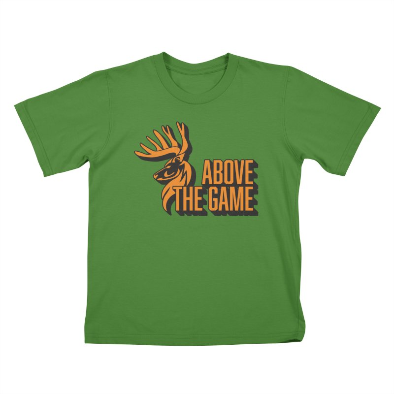 Above The Game in Kids T-Shirt Clover by abovethegame's Artist Shop