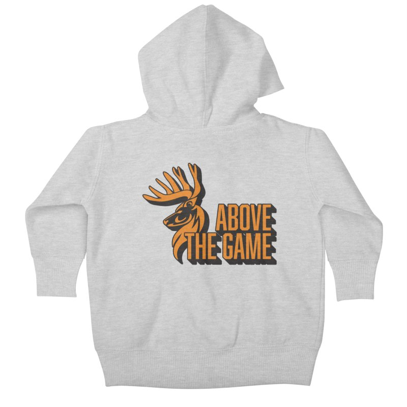 Above The Game Kids Baby Zip-Up Hoody by abovethegame's Artist Shop