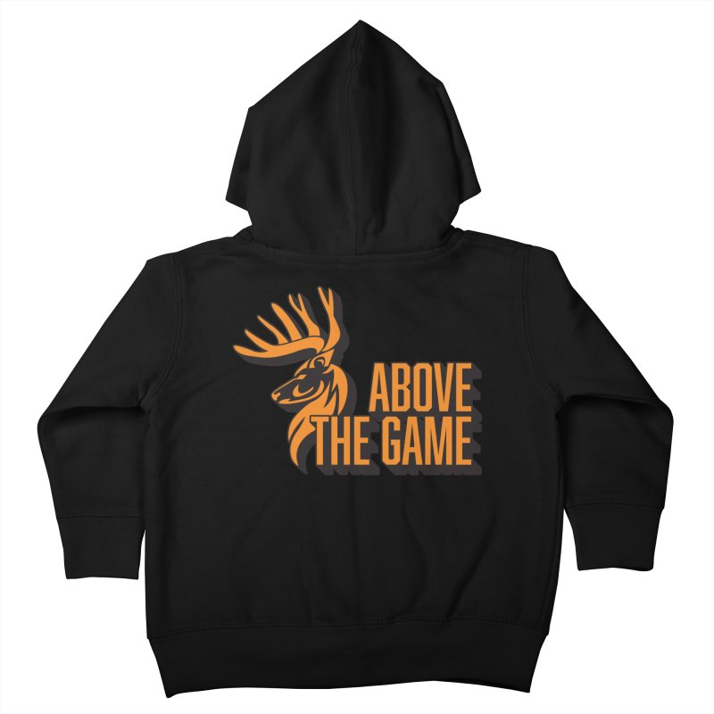 Above The Game Kids Toddler Zip-Up Hoody by abovethegame's Artist Shop