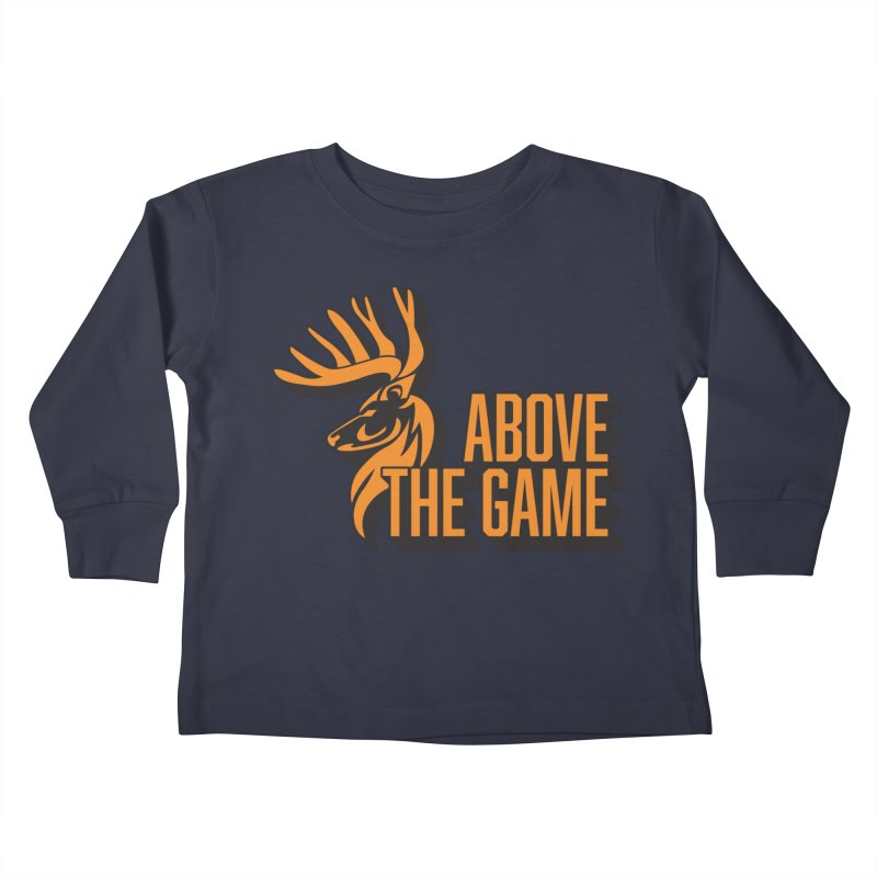 Above The Game Kids Toddler Longsleeve T-Shirt by abovethegame's Artist Shop