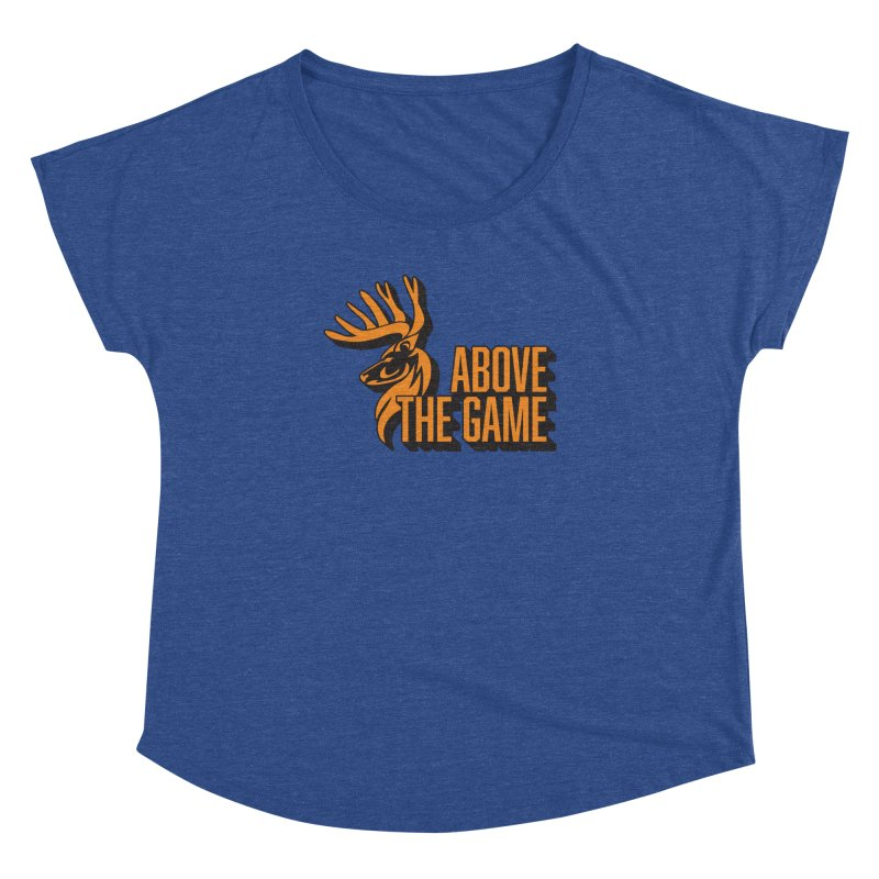 Above The Game Women's Dolman Scoop Neck by abovethegame's Artist Shop