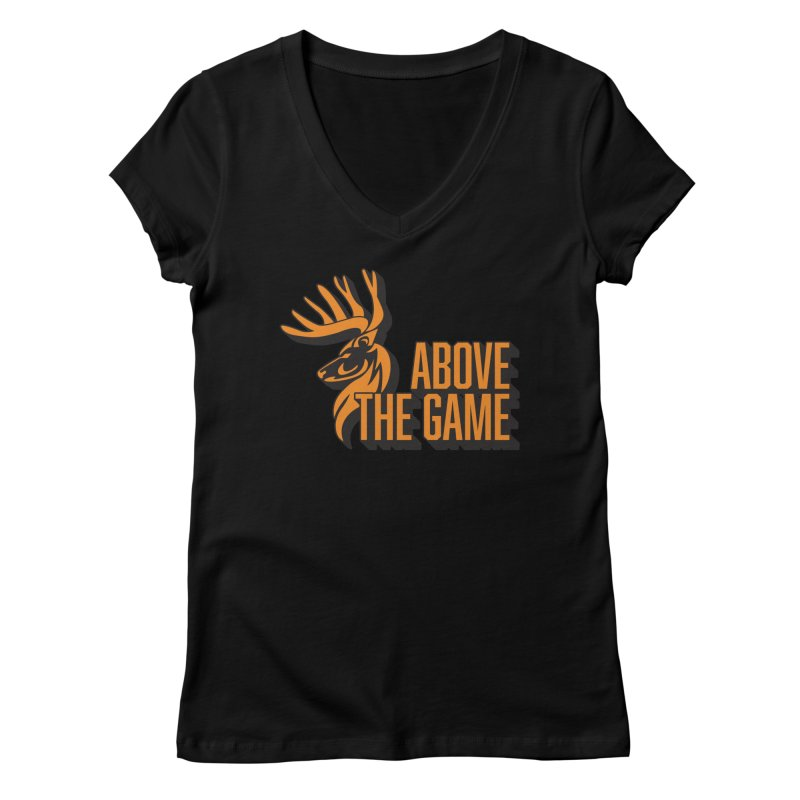 Above The Game Women's Regular V-Neck by abovethegame's Artist Shop