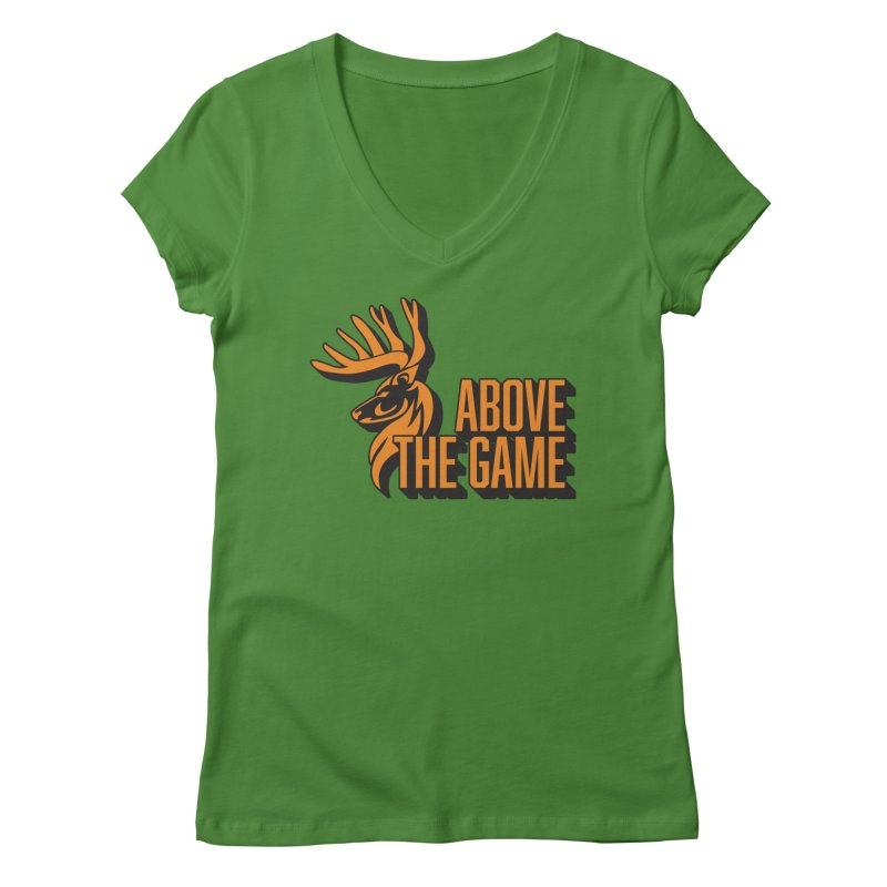 Above The Game Women's V-Neck by abovethegame's Artist Shop
